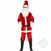 Santa Boy Outfit (suit and hat)